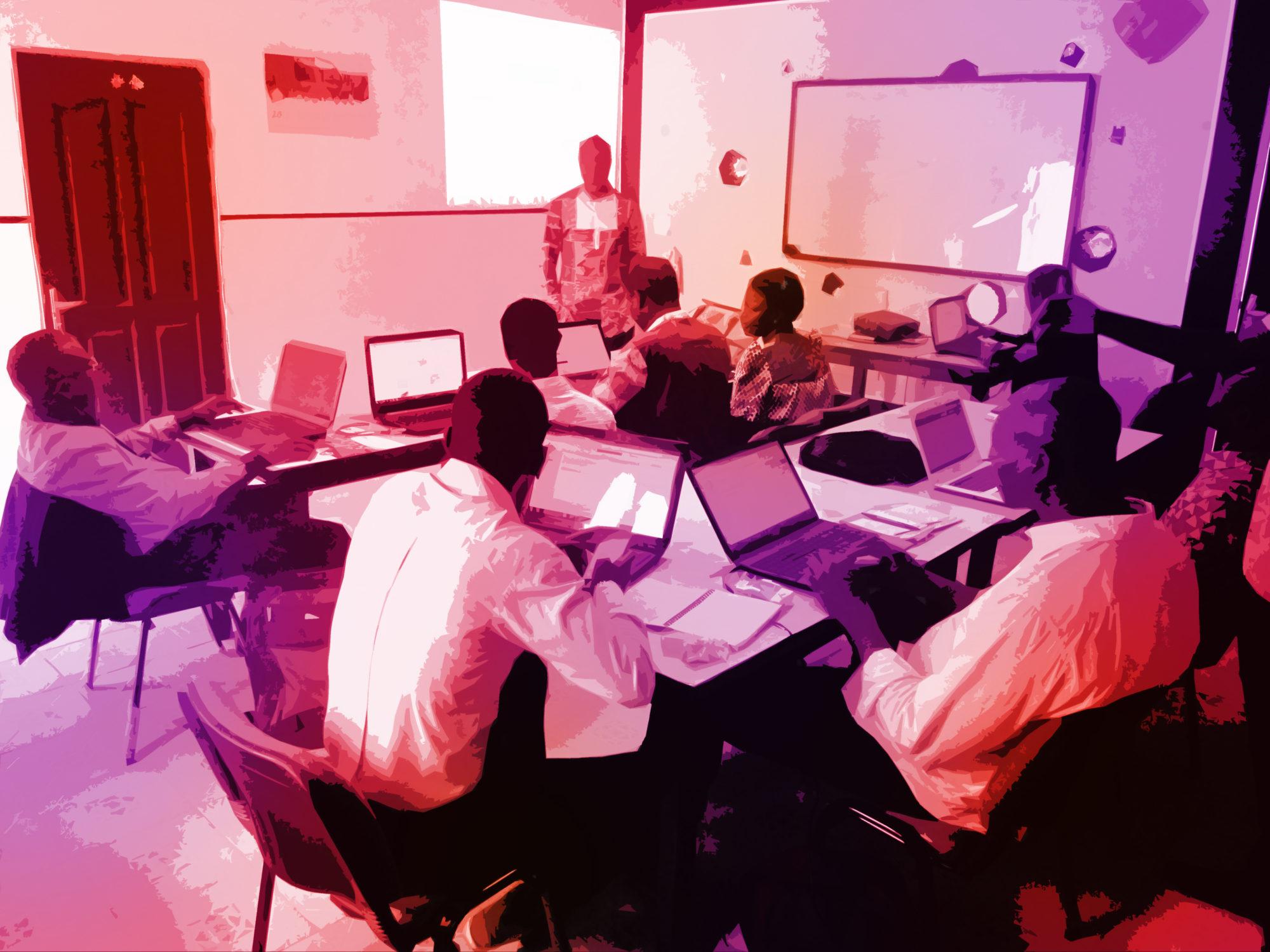 Wikipédia en Côte d'Ivoire: 7 archivistes font leurs premiers pas