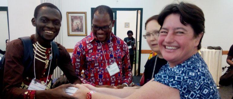 Réception du WikiPack à Accra